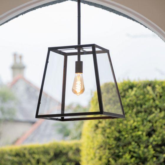 glass lantern pendant ceiling light