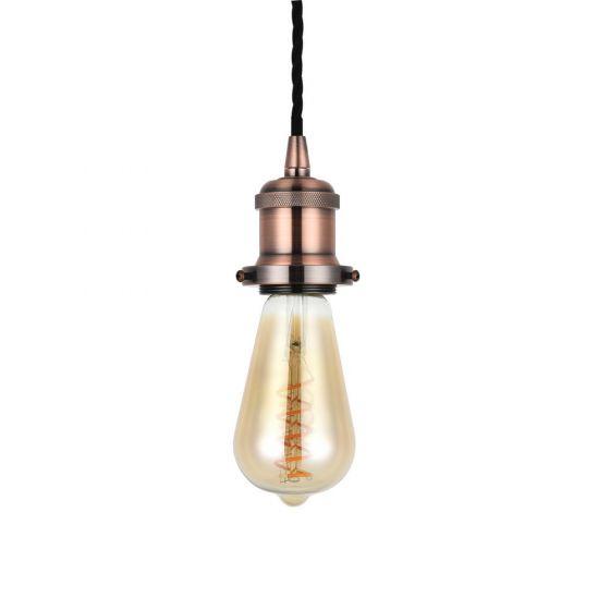 Copper Bulb Holder