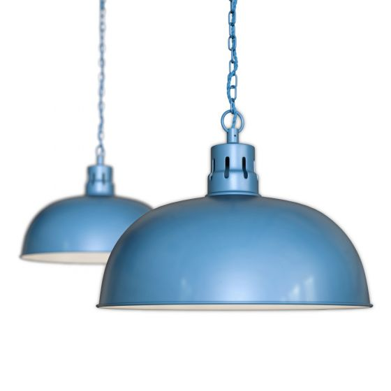 Blue Pendant Light
