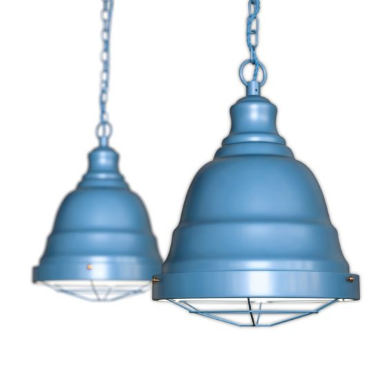 Blue Vintage Pendant Light
