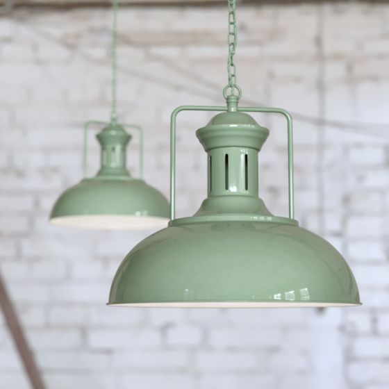 Mint Green Kitchen Pendant Light