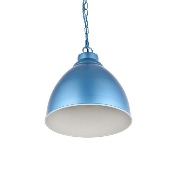 Oxford Vintage Pendant Light Aston Blue