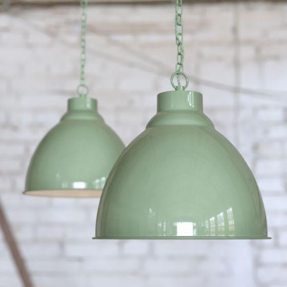 Mint Green Pendant Light