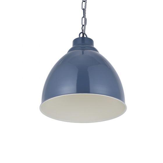 Oxford Vintage Pendant Light Leaden Grey