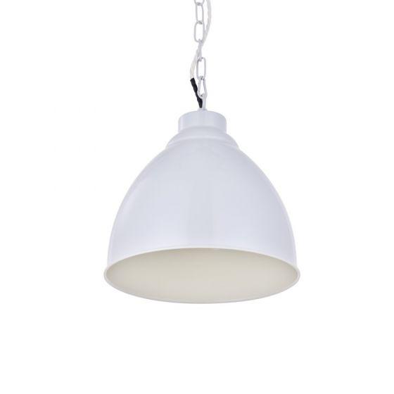 Oxford Vintage Pendant Light Pale Grey