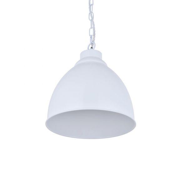 Oxford Vintage Pendant Light Pure White