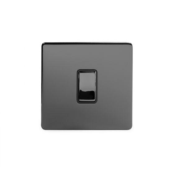 Screwless Black Nickel Switches