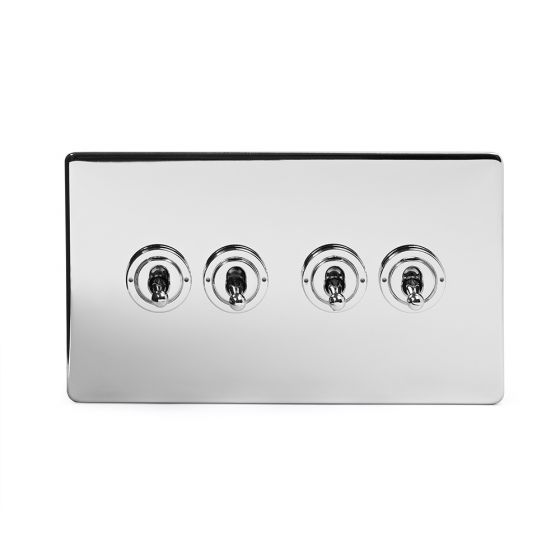 4 gang intermediate toggle switch
