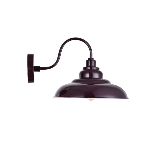 Burgundy Wall Light