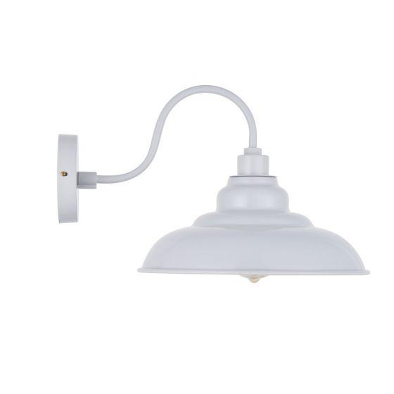 Grey Industrial Wall Light
