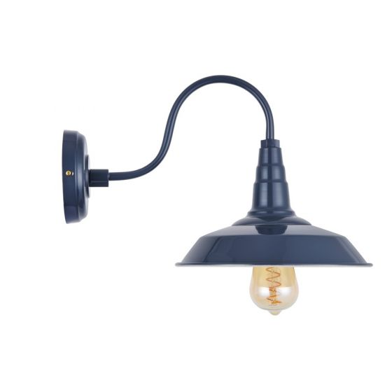 Argyll Industrial Wall Light Leaden Grey