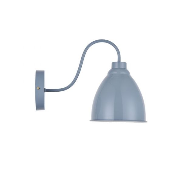 French Grey Vintage Wall Light - Oxford - Soho Lighting