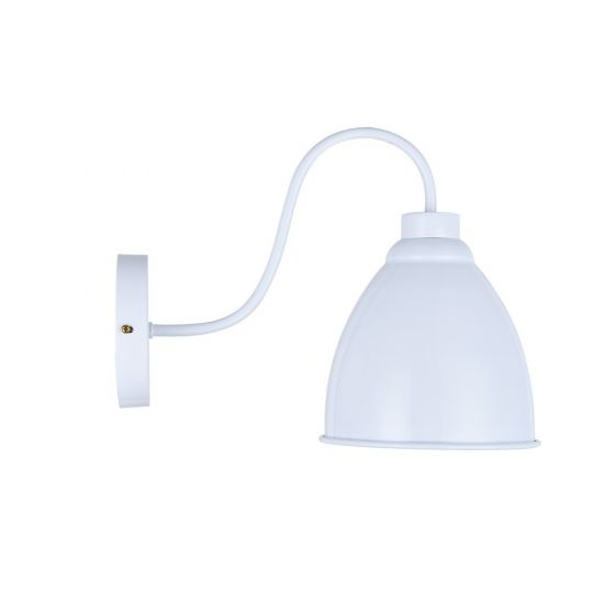 Oxford Vintage Wall Light Pure White - Soho Lighting