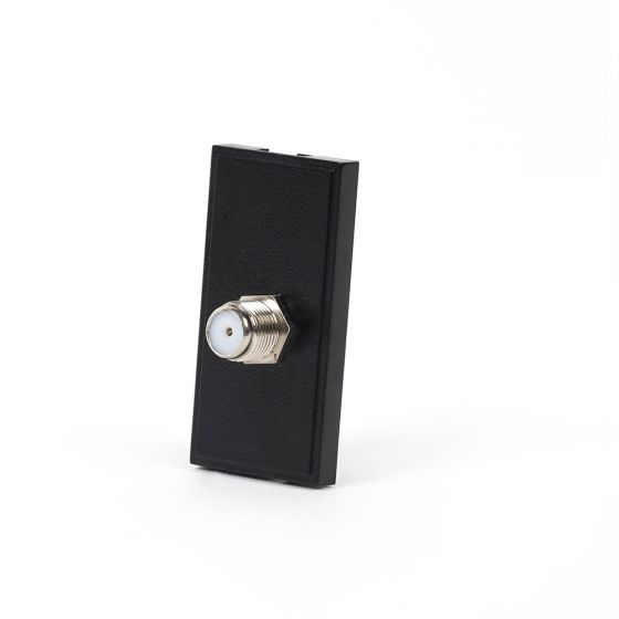 Soho EuroMod Terminal F Connector - Black