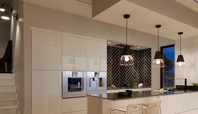 Rose Gold Kitchen Lighting Ideas